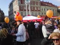 Fantastična atmosfera s Trga bana Josipa Jelačića