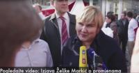 Željka Markić: Autentični smo, nudimo borbu za jaku obitelj