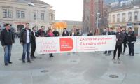 """[VIDEO] """"Moja domovina"""" na trgu u Osijeku"""